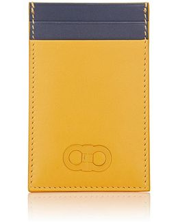 Colorblocked Card Case