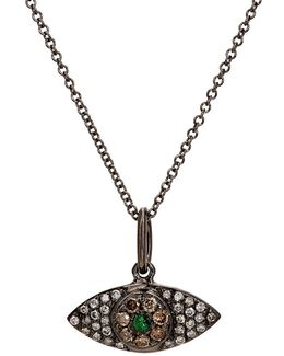 Open Eye Pendant Necklace