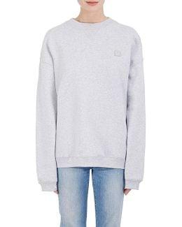 Cotton Fleece Oversized Sweatshirt