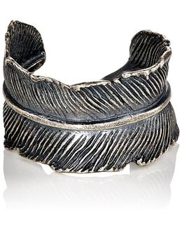 Feather Cuff Ring