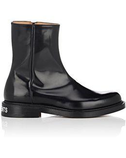Shannon Spazzolato Leather Boots