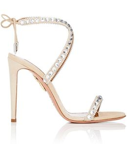 Sweet Lover Suede & Leather Sandals