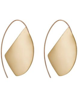 Lygia Flat Drop Earrings