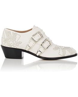 Susanna Leather Ankle Booties