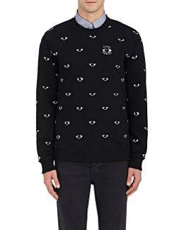 French Terry Eyes Sweatshirt