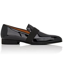 Patent Leather Venetian Slippers