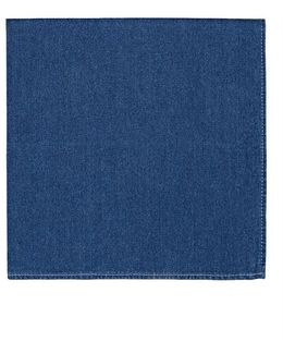 Cotton Chambray Pocket Square