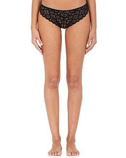 Crochet Lace Cheeky Bikini Briefs