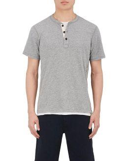 Standard Issue Cotton Jersey Henley