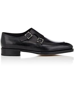 Hayes Leather Double-monk