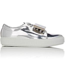 Adriana Specchio Leather Sneakers