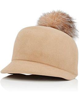Circa Pom Fur Hat