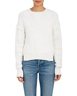 Cotton Convertible Sweater