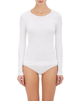 Sea Island Cotton Long-sleeve T