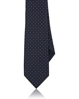Polka Dot Silk Necktie