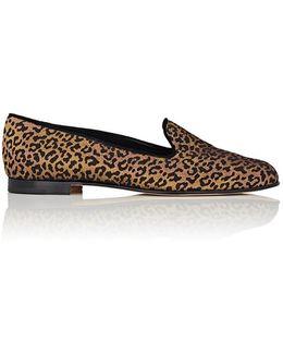 Dipla Leopard Brocade Loafers