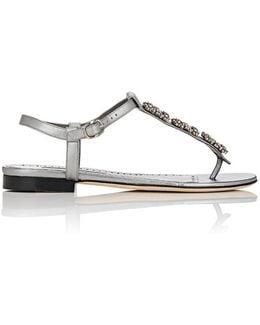 Ottolinasan Leather Thong Sandals