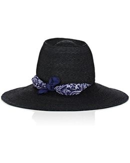 Windsock Raffia Hat