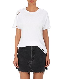 Distressed Cotton T