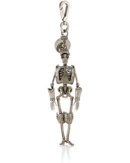 Armored Skeleton Key Chain