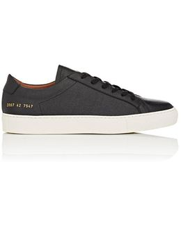 Achilles Grained Leather Sneakers