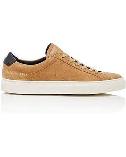 Achilles Retro Suede Sneakers