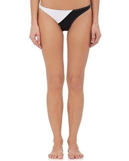 Electra Colorblocked Bikini Bottom