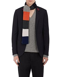 Colorblocked Wool
