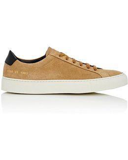 Achilles Retro Suede & Leather Sneakers