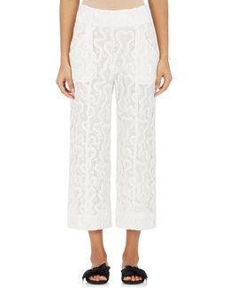 Elie Lace Crop Pants