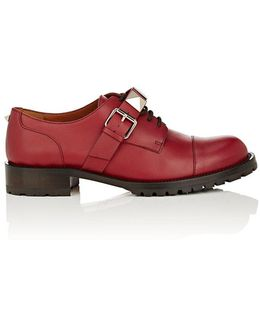 Lock Leather Oxfords