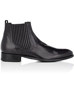 Eldridge Covered Chelsea Leather Boots