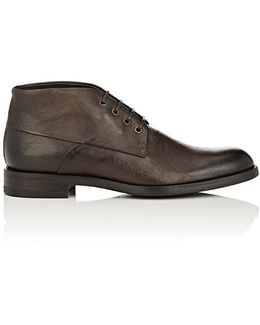 Jacob Leather Chukka Boots