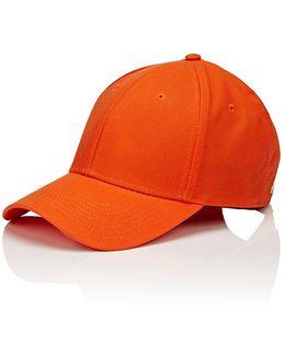 Waxed Cotton Baseball Cap