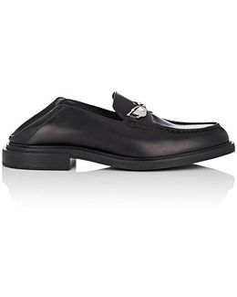 Buggies Spazzolato Leather Penny Loafers