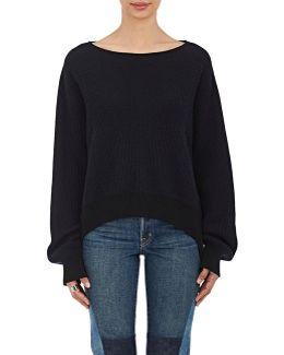 Stirrup Rib-knit Cotton