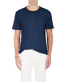 James Striped Cotton T