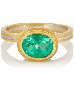 Lovely Colombian Emerald Ring