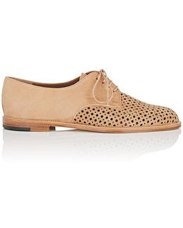 Aferi Perforated Suede Oxfords