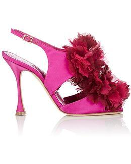 Flore Satin Sandals