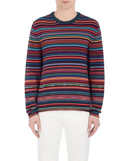 Striped Merino Wool