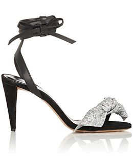 Akynn Suede & Leather Sandals