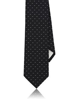 Dotted Silk Necktie