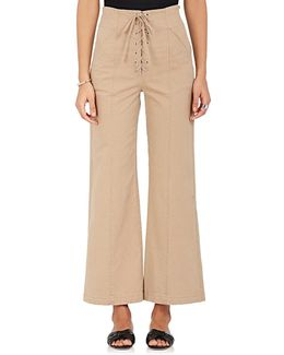 Kyt Stretch-cotton Twill Lace