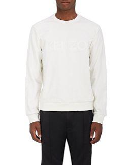 Logo Cotton Fleece Sweatshirt