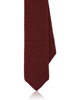 Knit Silk Necktie
