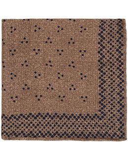 Dotted Wool Pocket Square
