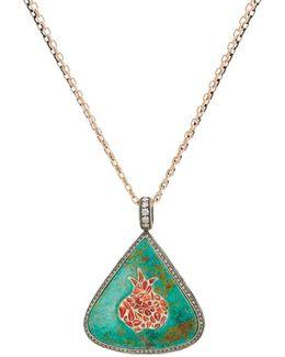 Triangular Pendant Necklace