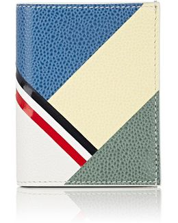 Colorblocked Business Card Case