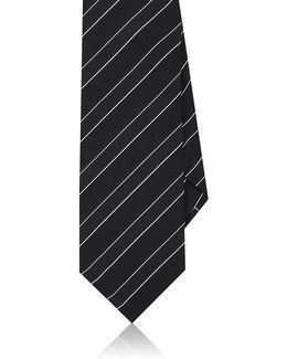 Striped Silk Necktie